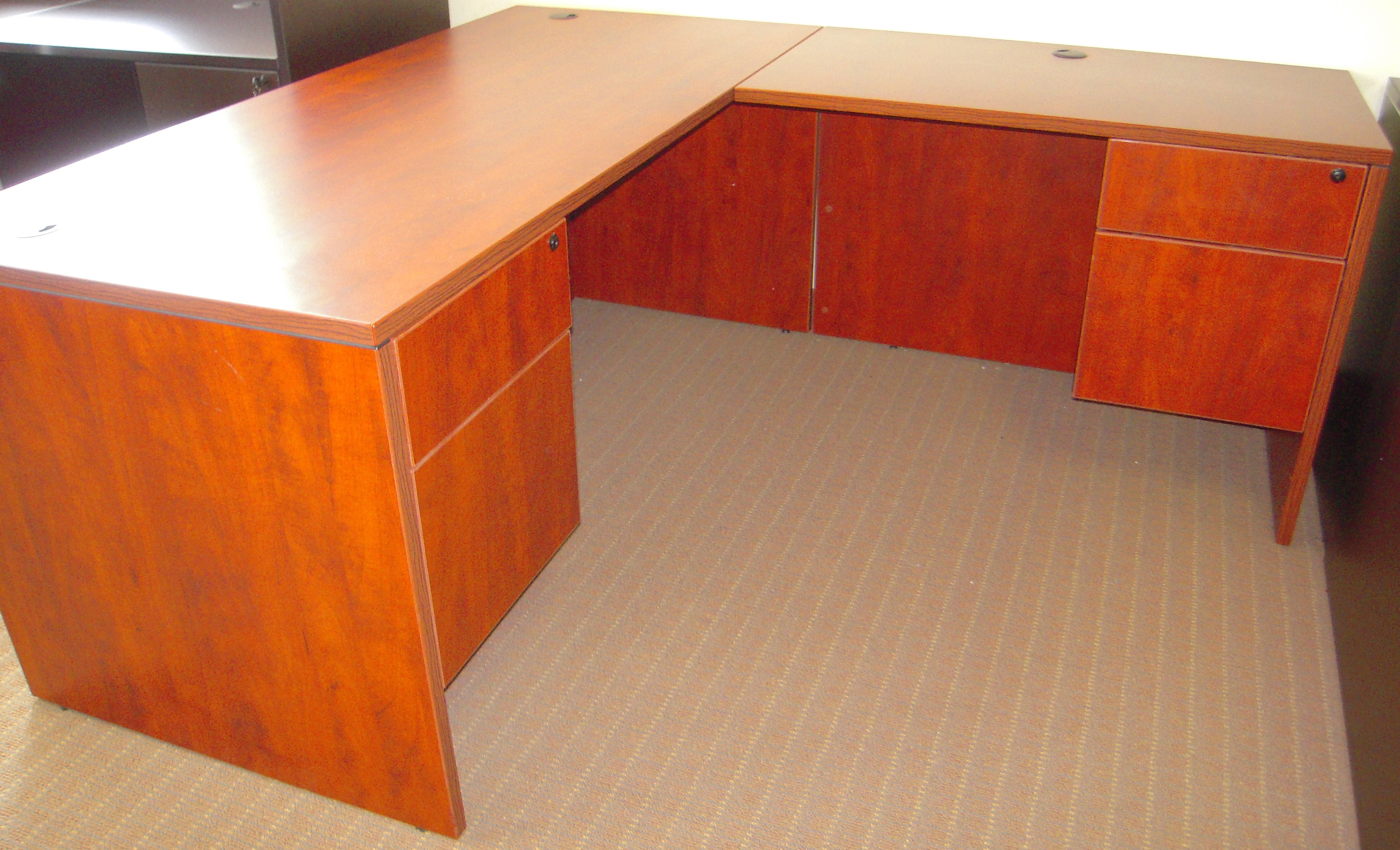 New Marquis Desk With Return